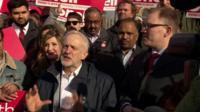 Jeremy Corbyn in Stoke