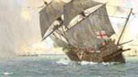 The Mary Rose painting