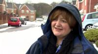 Tina Donnelly, director of the Royal College of Nursing in Wales, said some staff walked up to five miles to get to work