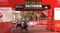 Weir clinches dramatic seventh marathon win