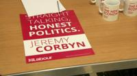 Straight talking honest politics leaflet