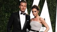 David and Victoria Beckham in 2012