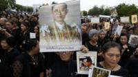 Thais mourn King Bhumibol who died last year and was hugely revered