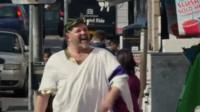 Colchester Council's Roman emperor video