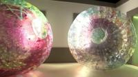 Zorb homes at the Venice Biennale.