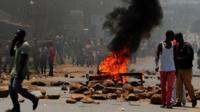 Kisumu protest