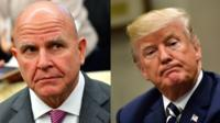 McMaster and Trump