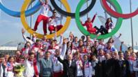 The IOC has banned Russia from competing at the 2018 Winter Olympics over doping.
