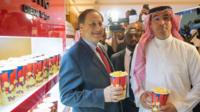 For the first time in 35 years, Saudis are allowed to go to the cinema.