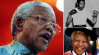Nelson Mandela died in 2013 at the age of 95