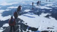 Siberia ice race