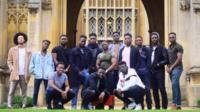 Black male Cambridge students