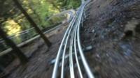 Toboggan track