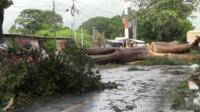 Nate brings destruction to Nicaragua