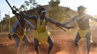 Dancers from East Arnhem Land at the opening ceremony