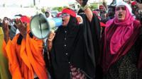 Somali women chant