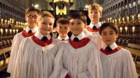 King's College Choir singers