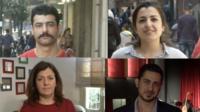 Syrians in Beirut