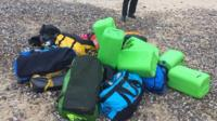 The National Crime Agency is carrying out an investigation to trace the owners of holdall bags washed up on two Norfolk beaches containing £50m-worth of cocaine.