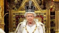 Queen delivers speech