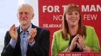 Jeremy Corbyn and Angela Rayner