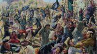 Artist Ammar Abdal captures the brutality of IS rule
