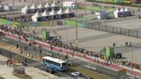 Queues at Rio Olympics