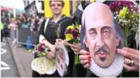 Shakespeare face mask