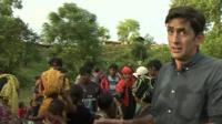 BBC correspondent Justin Rowlatt reports on the plight of the Rohingya Muslims