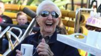 'Britain's oldest daredevil' Jack Reynolds