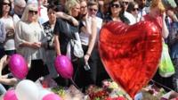 Those killed and injured in the attack at Manchester Arena on Monday have been remembered in a minute's silence.