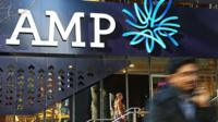 A shot of the AMP building in Melbourne