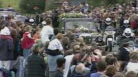 Funeral cortege of Diana, Princess of Wales