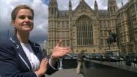 Jo Cox in Westminster