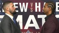 Bellew and Haye