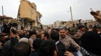 آیتالله خامنهای در سرپل ذهاب استان کرمانشاه