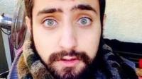 Mahmoud Bitar, a Syrian refugee in Sweden.