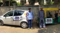 Uber versus rickshaw