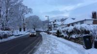 Malvern in the snow