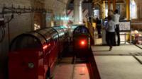 Underground railway carriages