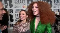 Geri Haliwell and Jess Glynne