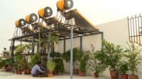 Solar power construction