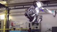 Atlas, a humanoid robot developed by Boston Dynamics, is now able to perform backflips.
