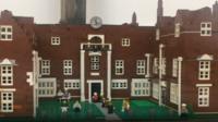Christchurch Mansion, Ipswich in Lego