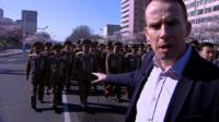 John Sudworth in Pyongyang