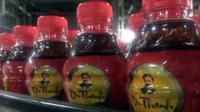 THP tea bottles