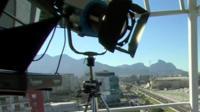 BBC camera in Rio