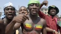 Pro-Biafra supporters in Nigeria - November 2015