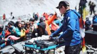 DJ Paul Oakenfold at Everest base camp