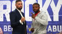 Tony Bellew (L) and Ilunga Makabu